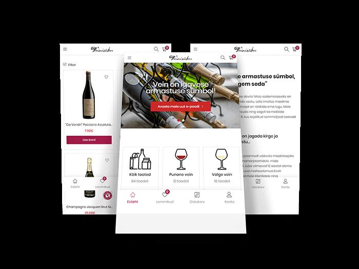 Veinisõber | veinisober.ee | Wine Consult OÜ | E-pood | L-pakett