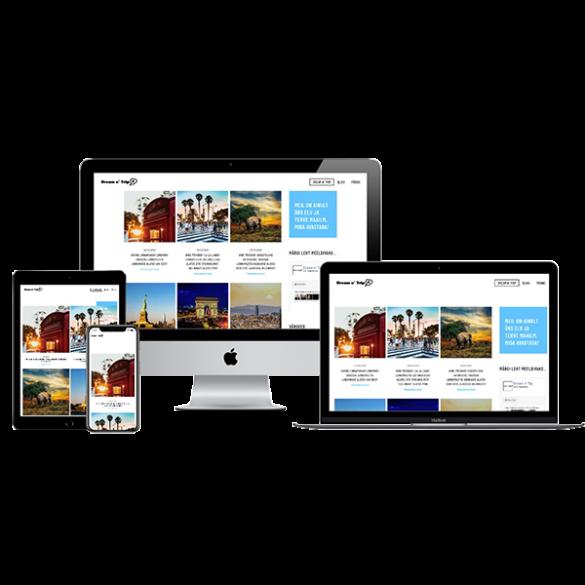 Veebiagentuur | Dreamntrip | Dream n´ Trip | dreamntrip.ee | L-pakett | Veebileht