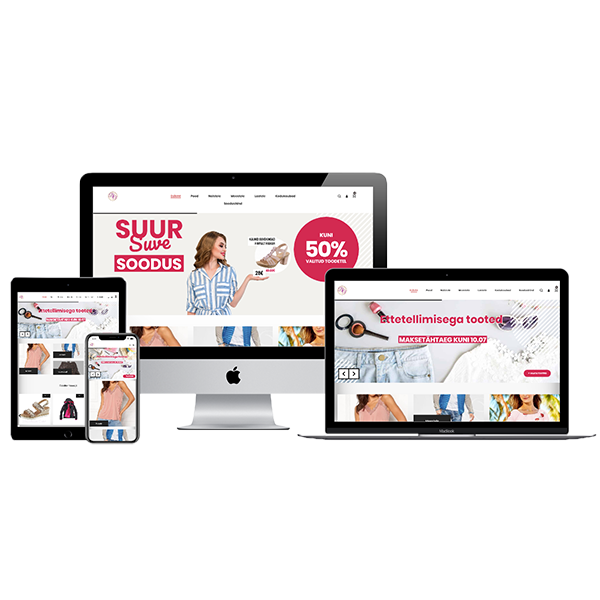 Digiagentuur | Turundusagentuur | Salesdom OÜ | Bränditoodete Outlet OÜ | Outletpood.ee | E-pood | M-pakett